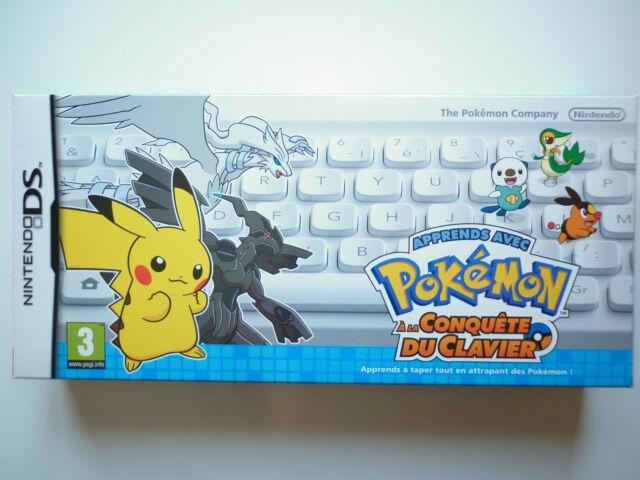 Pokémon Apprends avec Pokémon A La Conquête Du Clavier Jeu Vidéo Nintendo DS