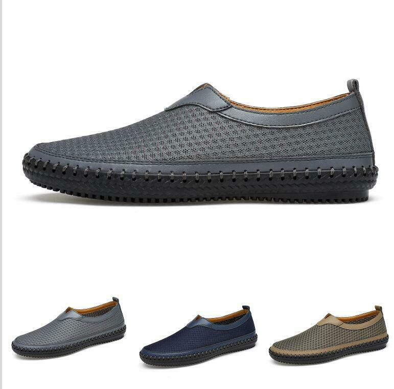 Casuals shoes Mens 2019 Spring Mesh Breathable Comfort Trail Walking Slip On New