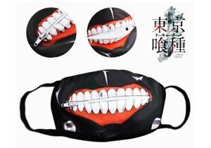 Cosplay-tokyo-ghoul-Ken-Kaneki-Anime-Manga-Mundschutzmaske-Masken-Schutzmasken