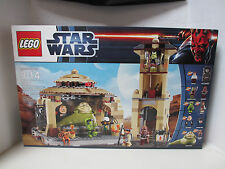NIB 2012 Star Wars LEGO Set 9516 Jabba's Palace with Bib Fortuna, Boushh, Oola