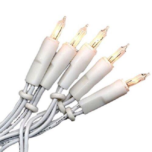 MINI-Ghirlanda di luci 50er pere chiaro//bianco catena anello interno 423-48 Xmas