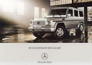 MERCEDES-BENZ-G-KLASSE-G-MODELL-500-55-AMG-320-Prospekt-Brochure-Buch-2006-79