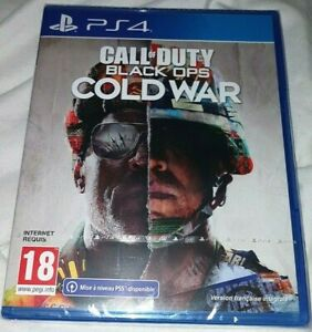 Jeu Call of Duty Black Ops Cold War PS4 + mise à niveau PS5 Neuf