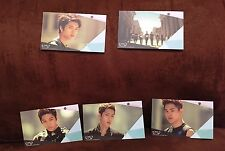 """New 5 Infinite 2nd Single Album Cards, 3.375"""" by 2"""", Kpop"""