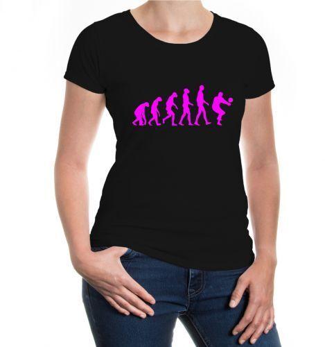Da Donna a Maniche Corte malvagia T-shirt The Evolution of pallavolo Fanshirt MAGLIA acquistare