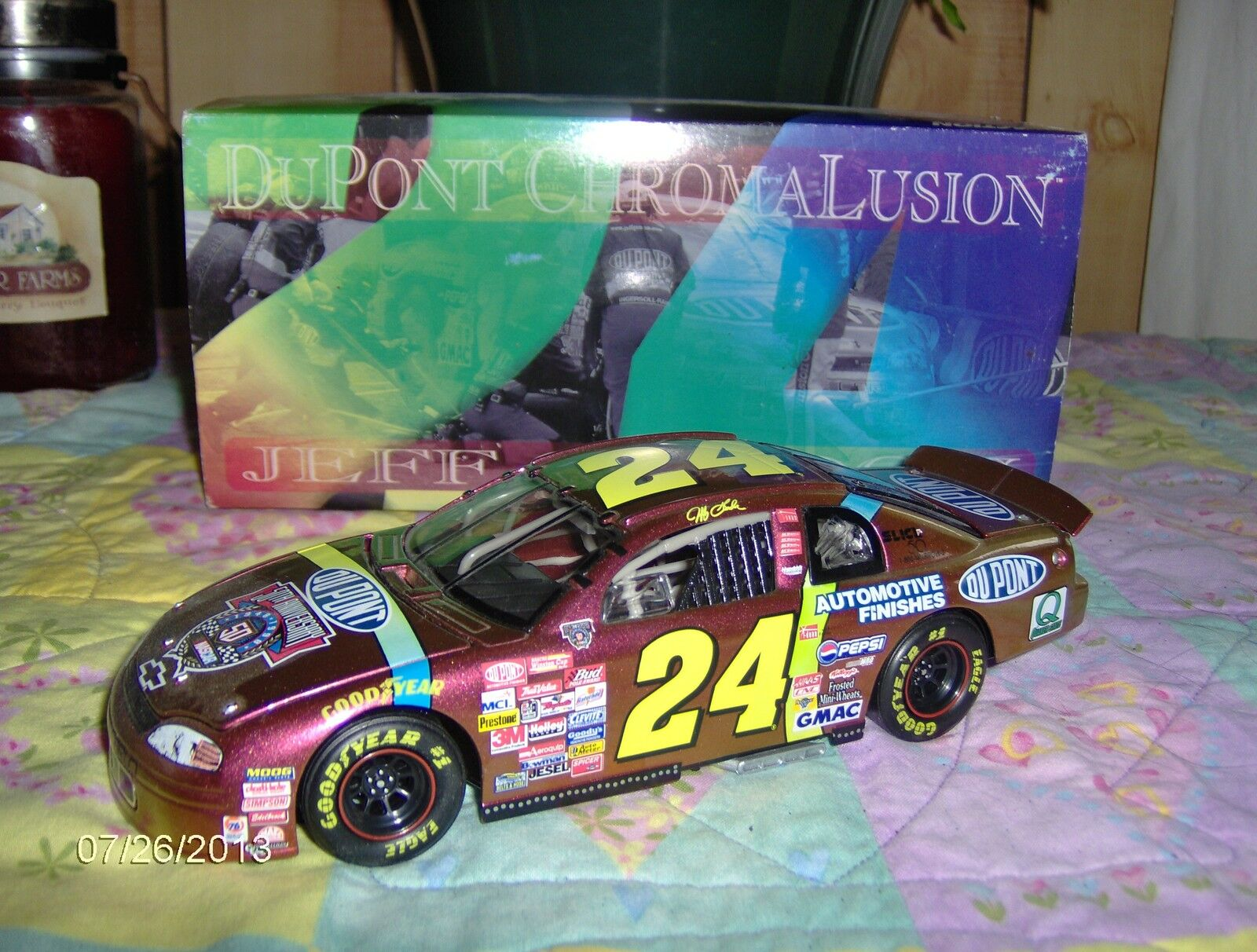 1998 Jeff Gordon Chromalusion Chromalusion Chromalusion 1 24th. 692d8d