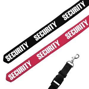 Aktiv Schlüsselband Anhänger Security Sicherheit Sicherheitsdienst Türsteher Beruf SchüTtelfrost Und Schmerzen Schlüsselbänder Luxus-accessoires