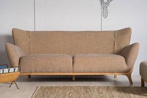 Fabulous Details About Willow Retro Scandinavian Designer Modern Contemporary Sofa Set Oatmeal 3 2 1 Inzonedesignstudio Interior Chair Design Inzonedesignstudiocom