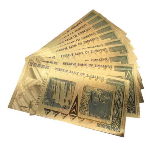 100 Trillion Dollar Banknote World Currency Bill Paper Money Collection Value