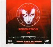 (GT367) Redemption TV, 10 Videos various artists - Rock Sound DVD