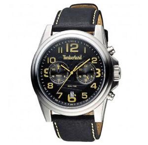 Reloj Time Details TBL14518JS02A en about y Piel Timberland Pickett Acero Hombre la Dual PZN08XnwOk