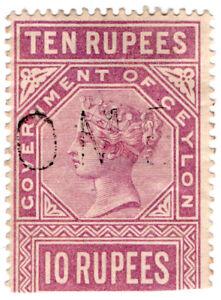 I-B-Ceylon-Telegraphs-10R-Pale-Claret-1882