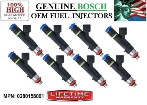 2003-2004 Ford Expedition 5.4L V8// OEM Bosch 0280158001 Refurb 8x Fuel Injectors