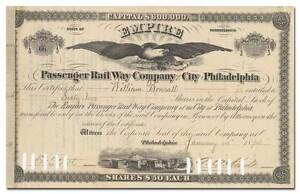 Empire-Passenger-Rail-Way-Company-of-the-City-of-Philadelphia-Stock-Certificate