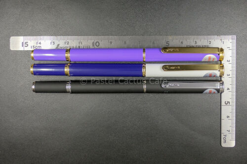 "Pilot F /""Greeting/"" Blue//White F Nib Fountain Pen 1990 Vintage NOS Collectible"