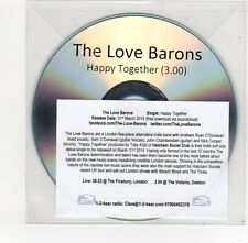 (FE600) The Love Barons, Happy Together - 2014 DJ CD