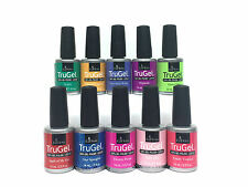 EZFlow Nail TruGel- SET OF 10 bottles-Choose any Color/Bond-It-On/Base/Top 0.5oz