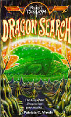 Dragon Search (Point Fantasy), Wrede, Patricia C., Used; Good Book