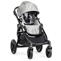 Baby Jogger 2015 City Select Stroller - Silver (black Frame)-new Free Shipping
