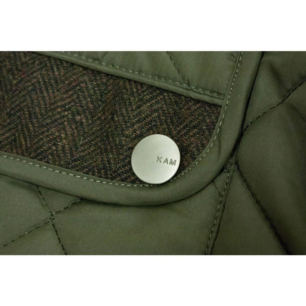 New Mens BRANDED Olive Grün Grün Grün Quilted Jakcet BIG & Tall Plus GrößeS 3XL-6XL | Abgabepreis  1f15f5