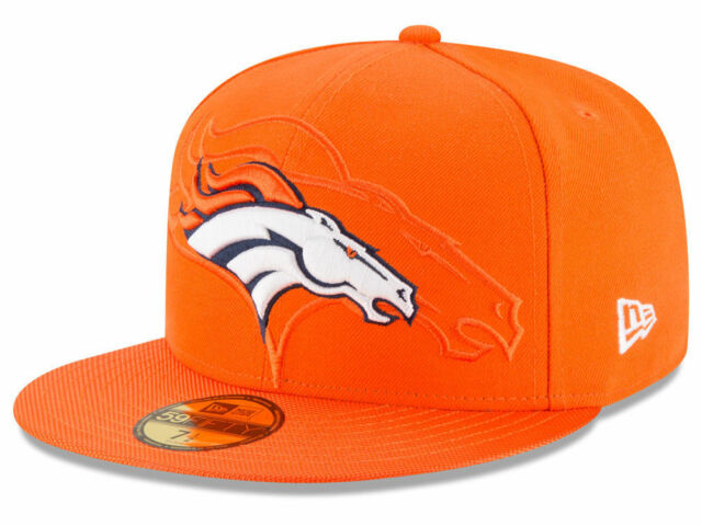 Denver Broncos New Era Official NFL Sideline 59Fifty Fitted Cap New With  Tags d58bc12b2f3