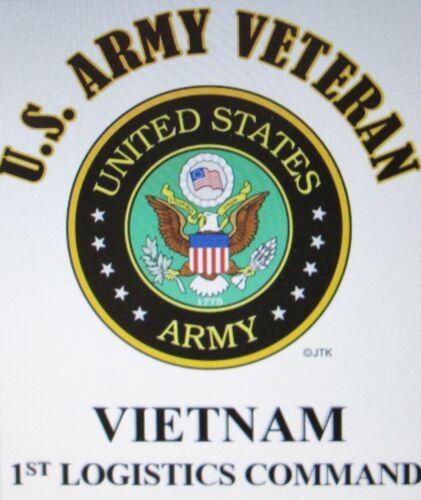 VIETNAM 44TH MEDICAL BRIGADE* U.S.ARMY VETERAN W//ARMY EMBLEM*SHIRT