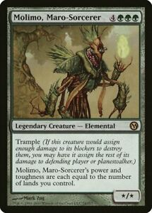 Molimo Maro-Sorcerer Invasion NM Green Rare MAGIC THE GATHERING CARD ABUGames