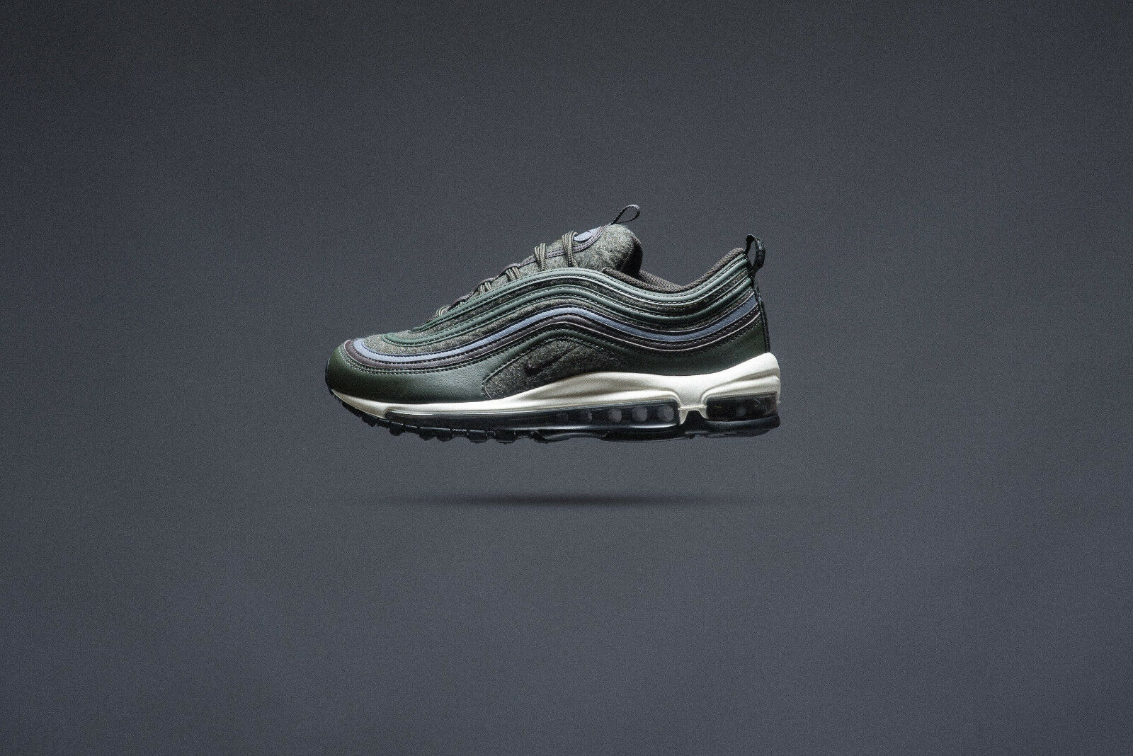 Nike Air Max 97 Sequoia Premium Sequoia 97 velours marron uk11 84bfb9