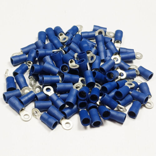 Insulated Ring Terminal Connector Terminals Crimp Electrical BULK Listing