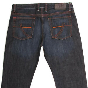 Details about CAMP DAVID DEXTER Men's Straight Regular Fit Denim Blue Jeans W36 L32 36x32