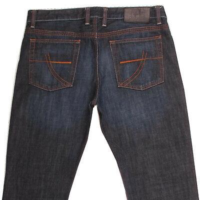 CAMP DAVID DEXTER Men's Straight Regular Fit Denim Blue Jeans W36 L32 36x32 | eBay