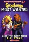 Night of the Puppet People by R L Stine (Hardback, 2015)