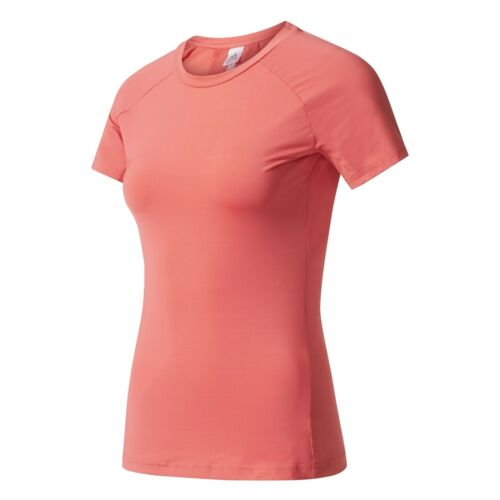 adidas Performance Damen Fitness Training Sport T-Shirt Speed Tee core pink