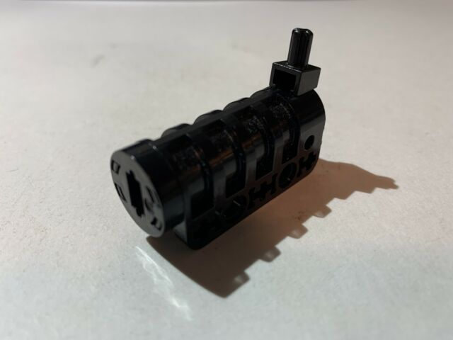 Lego Part 32074 Technic Competition Cannon Round Bottom Black