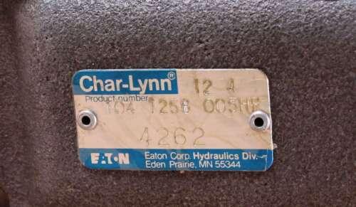 New 104-1258-005 Eaton Char-Lynn Hydraulic Motor