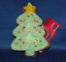 GINGERBREAD  FELT & CHENILLE CHRISTMAS TREE ORNAMENT MUST SEE