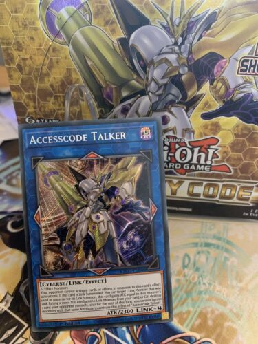 IN HAND ACCESSCODE TALKER EUROPEAN ENGLISH READY TO SHIP ETCO