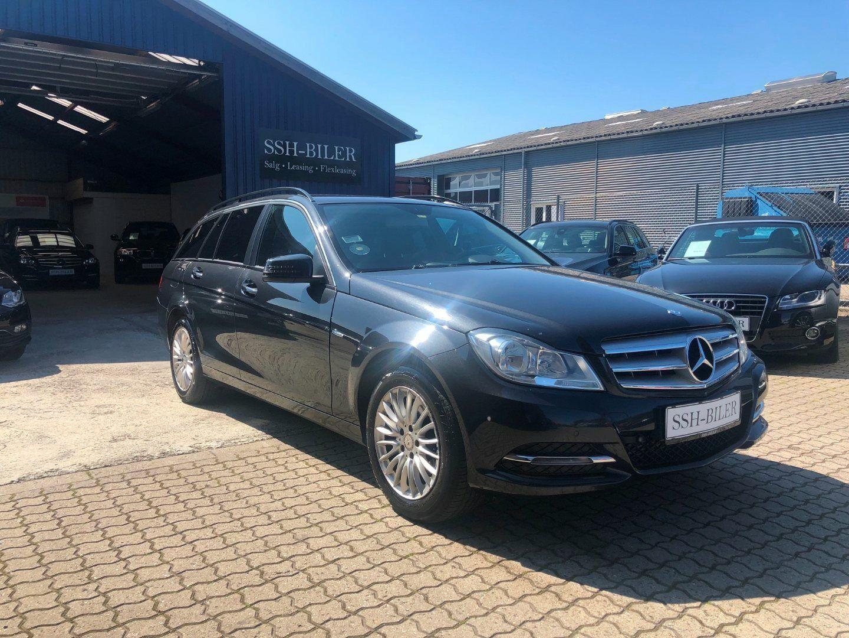 Mercedes C200 2,2 CDi Elegance stc. BE 5d - 144.995 kr.