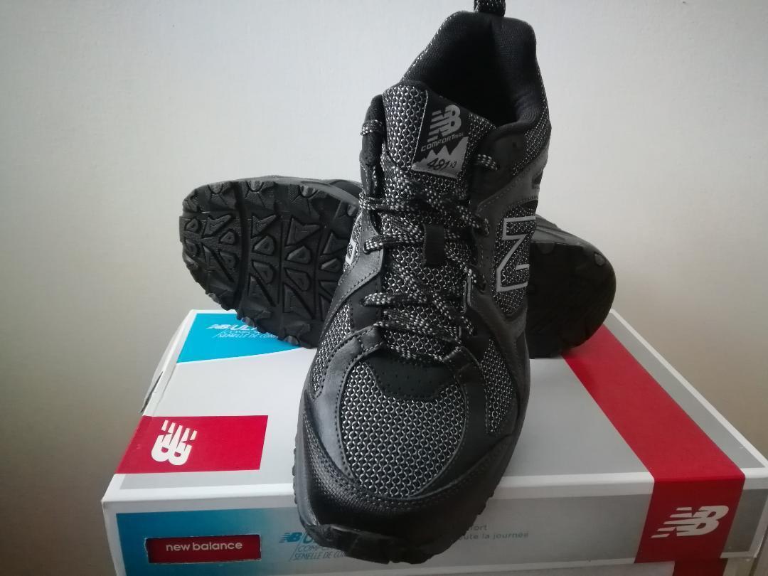 New  Mens New Balance 481 v3 Trail Running Turnschuhe schuhe - 4E Wide schwarz