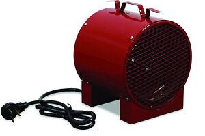 ELECTRIC HEATER - Commercial - Portable - 240 Volt - 4,000 Watt - 13,600 BTU