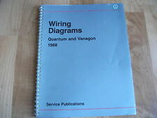 1988 Vw Quantum Amp Vanagon Wiring Diagrams Manual