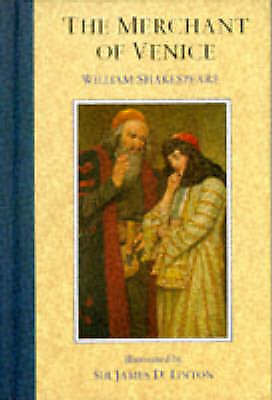 """""""AS NEW"""" The Merchant of Venice (The illustrated Shakespeare), Shakespeare, Will"""