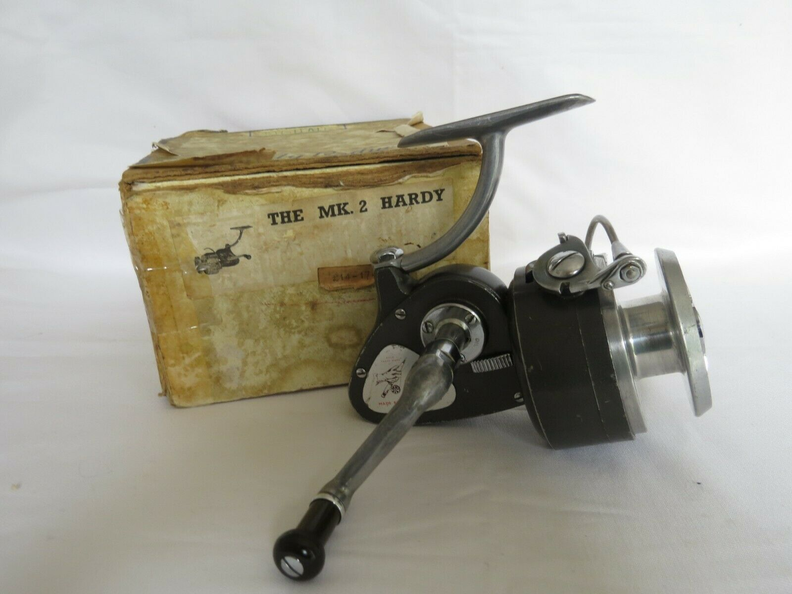 Vintage Hardy the Exalta Fixed Spool  Fishing Reel  fashion mall