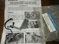 Delta Retro Fit Service Kit For 33-050 Deluxe Sawbuck Saw P/n 422323140001