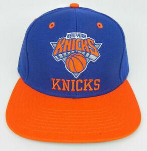 7a70499ead9 NEW YORK KNICKS NBA VINTAGE STYLE FLAT BILL SNAPBACK 2-TONE ADIDAS ...