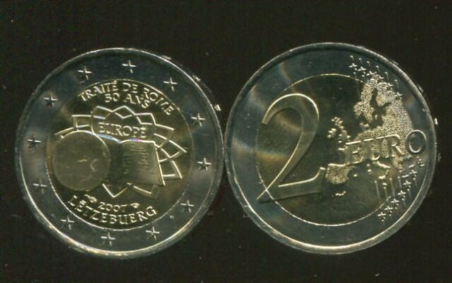 LUXEMBOURG 2 EURO 2007