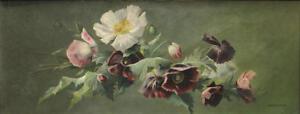California-Wildflowers-oil-still-life-Famous-California-Artist-William-Hubacek