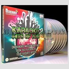 Karaoke CDG Discs Mr Entertainer Chart Hits of 2013, 6 CD+G Disc Set, 100 Songs