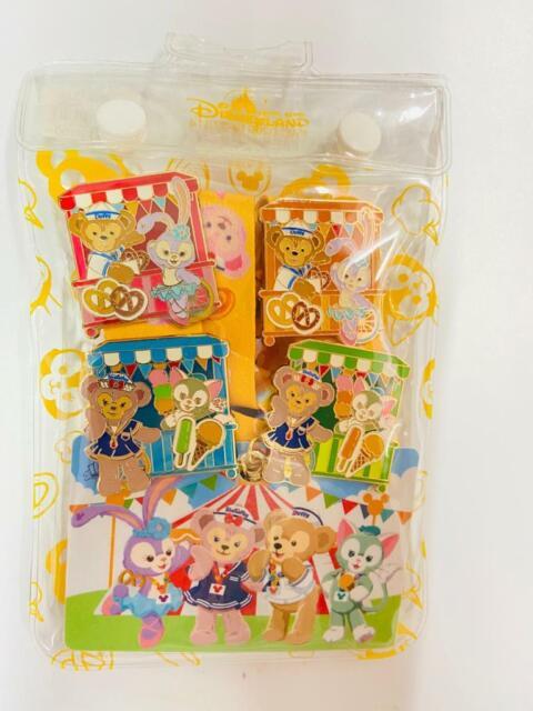 Disney Hong Kong Stickers HKDL-Lot of 4- Gelatoni Shellie May Duffy Cookie