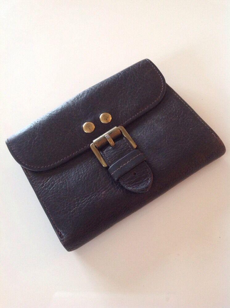Mulberry Roxanne Purse In Dark Brown Darwin Leather